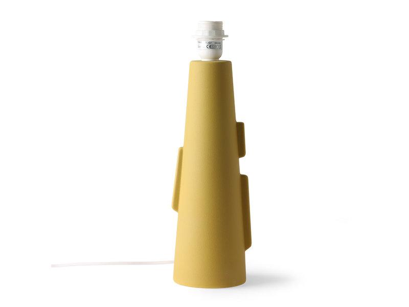 HK-Living Lampbotten B med handtag - mattgrön