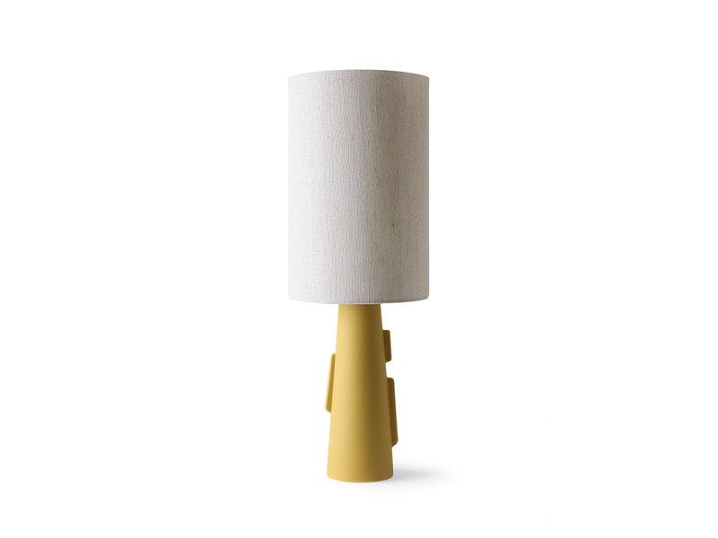 HK-Living Lampenkap cilinder - naturel