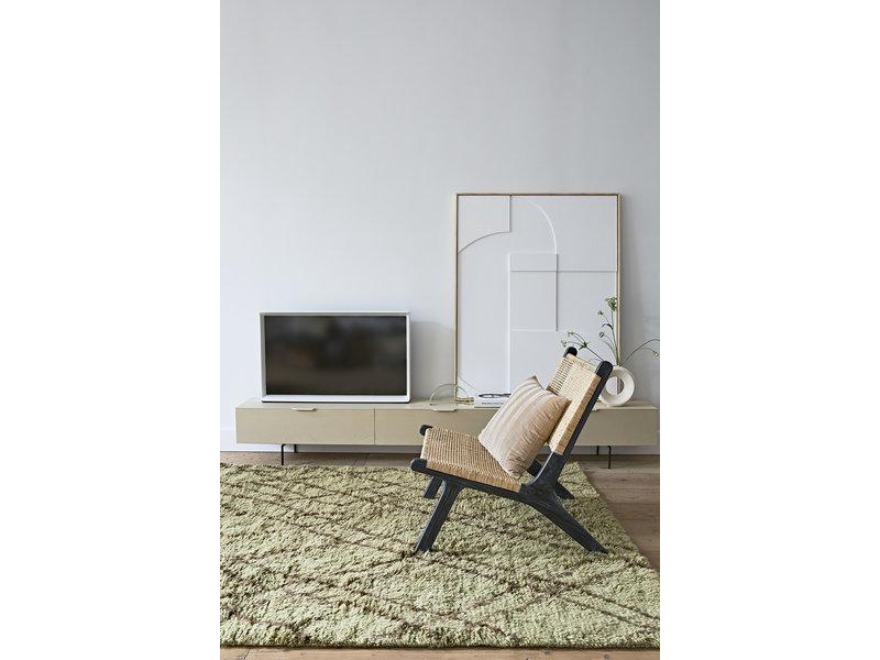 HK-Living Tv meubel hout - zand 250cm