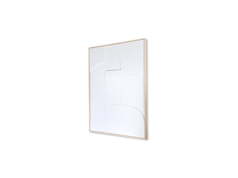 HK-Living Frame relief art panel A 60x80cm