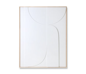 HK-Living Rahmenrelief-Kunsttafel B 97x120cm