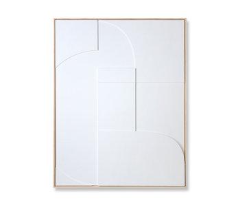 HK-Living Rahmenrelief-Kunsttafel A 97x120cm