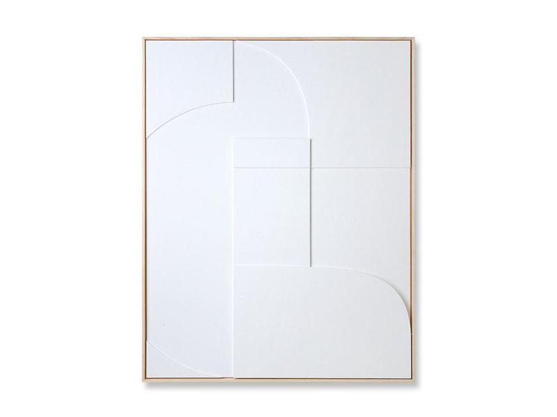 HK-Living Frame relief art panel A 97x120cm