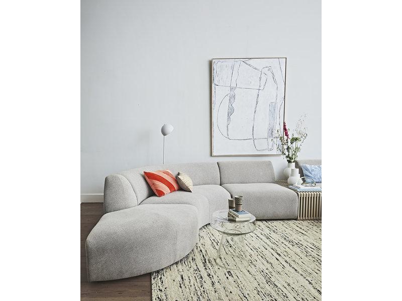 HK-Living Cornice brutalismo dipinto - bianco 120x160 cm