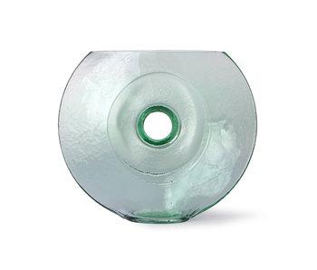 HK-Living Vaso circolare in vetro