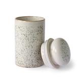 HK-Living Pot de rangement en céramique des années 70 - Grêle