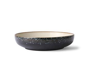 HK-Living Ceramic 70's salad bowl - galaxy