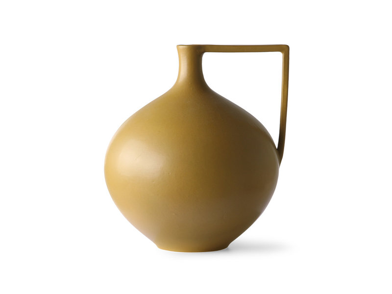 HK-Living La ceramica può L - senape