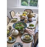 HK-Living Gradient Keramieken diepe borden peach - set van 2 stuks