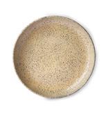 HK-Living Gradient Keramiske dybe plader fersken - sæt af 2 stykker