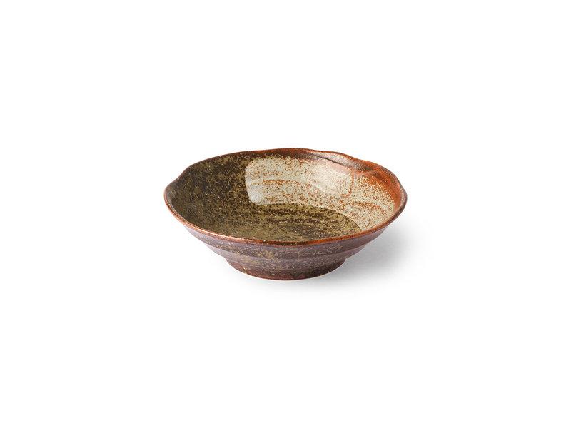 HK-Living Kyoto keramiske japanske skåle - sæt med 4 stk
