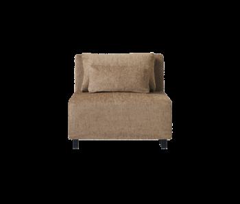House Doctor Module de canapé camphre élément central avec 2 coussins - camel