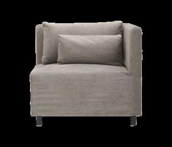 House Doctor Hazel nat sofa modul hjørneelement inkl. 2 puder