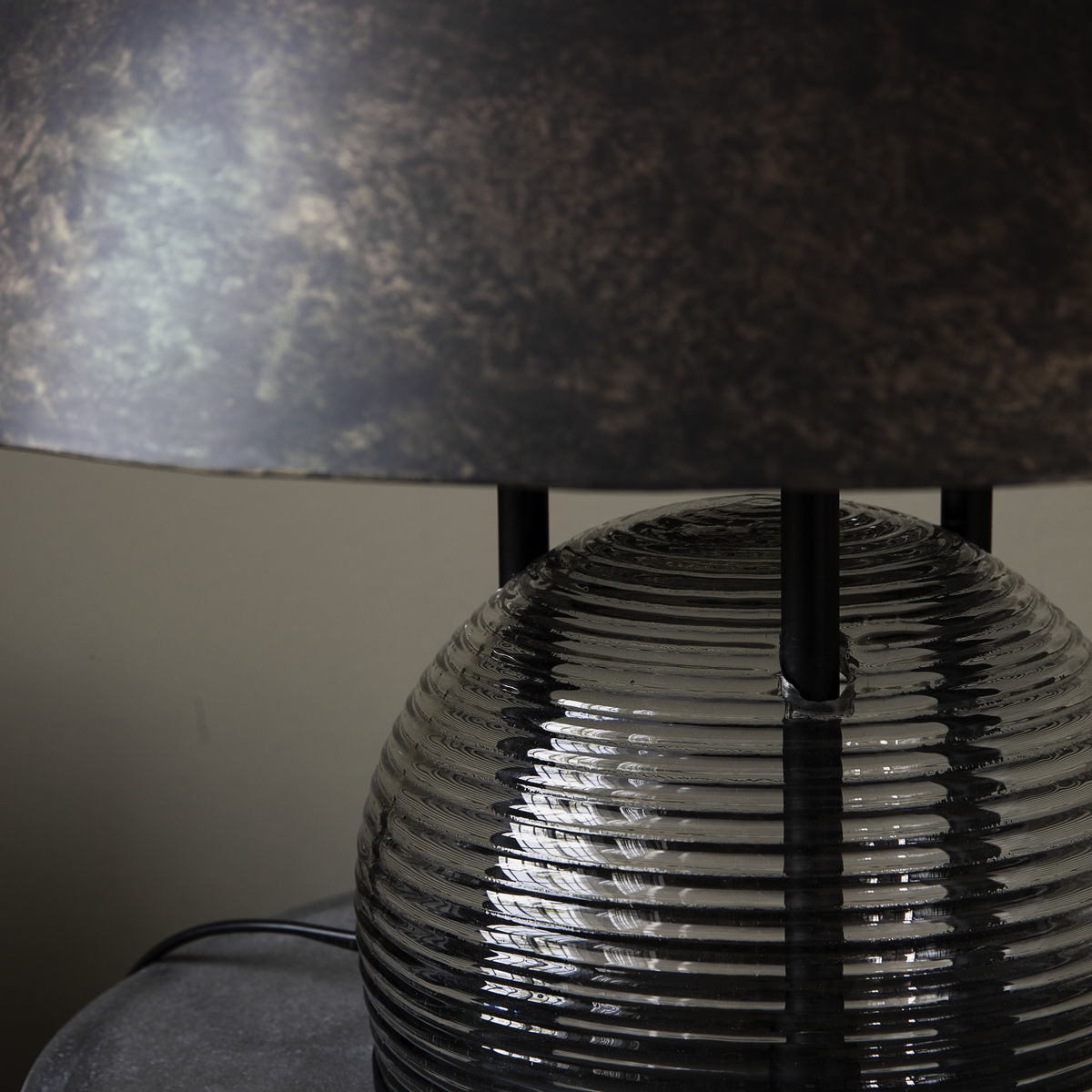 House Doctor Umbra Table Lamp Antique Brown Living And Co