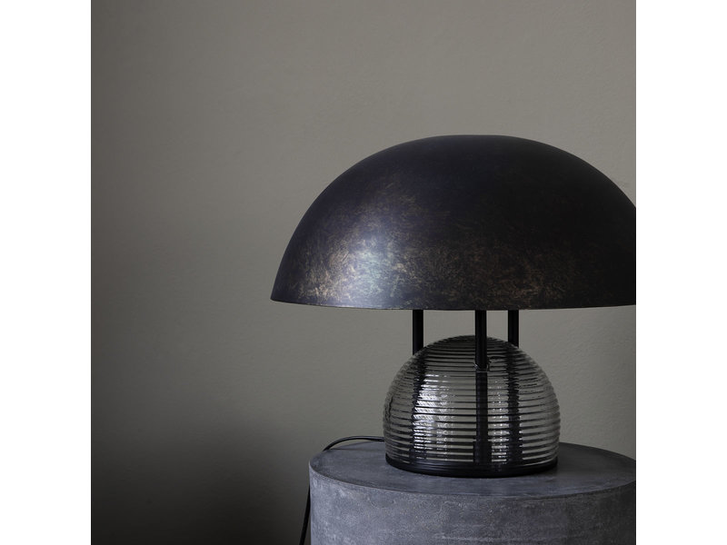 House Doctor Umbra bordslampa - antikbrun