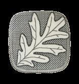 House Doctor Oak borden grijs/blauw - set van 6 stuks