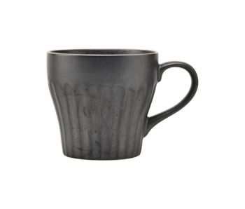 House Doctor Berica cups black - set of 12 pieces