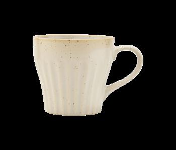 House Doctor Berica cups beige - set of 12 pieces