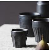 House Doctor Berica espressokoppar svart - uppsättning av 12 stycken