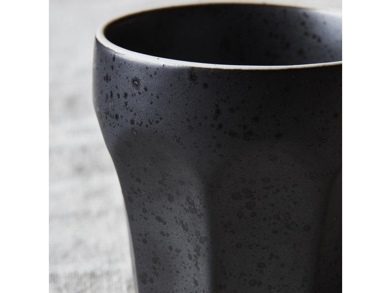 House Doctor Berica espresso kopjes zwart - set van 12 stuks