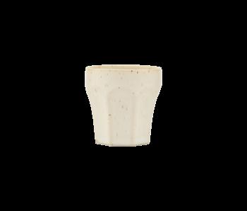 House Doctor Tazas de espresso Berica beige - juego de 12 piezas