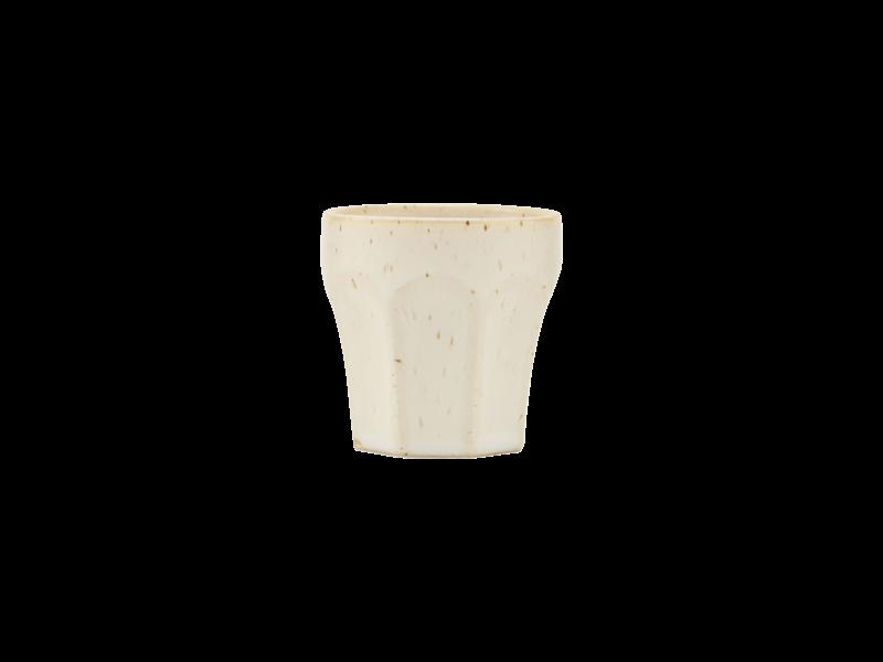 House Doctor Berica Espressotassen beige - 12 Stück
