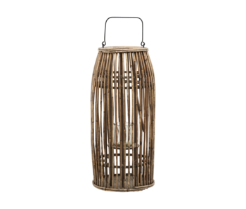House Doctor Ova lantern rattan - natural