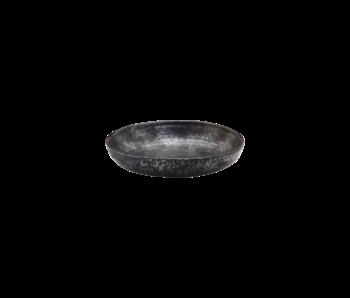 House Doctor Pion dybe plader sort / brun - sæt med 6 stykker