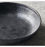 House Doctor Pion diepe borden zwart/bruin - set van 6 stuks