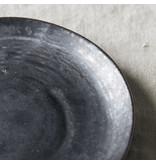 House Doctor Pion borden zwart/bruin - set van 6 stuks