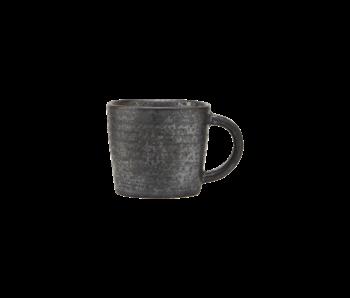 House Doctor Tazas de espresso pion negro / marrón - juego de 12 piezas