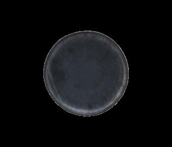 House Doctor Assiettes plates Pion noir / marron - lot de 6 pièces
