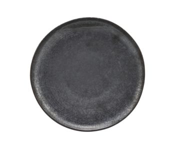 House Doctor Pion lunch plates black / brown - set of 6 pieces