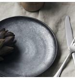 House Doctor Pion lunchplattor svart / brun - uppsättning av 6 stycken