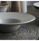 House Doctor Pion pasta plates white / gray - set of 6 pieces