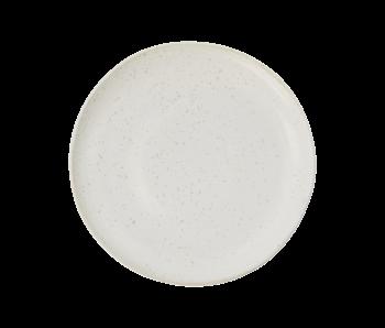 House Doctor Pion lunch borden wit/grijs - set van 6 stuks