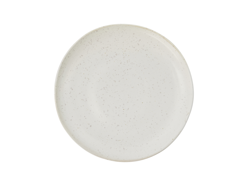 House Doctor Pion lunch plates white / gray - set of 6 pieces