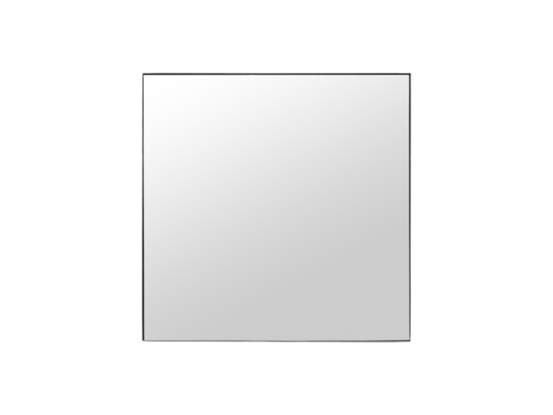 House Doctor Raw mirror with frame - 100x100cm