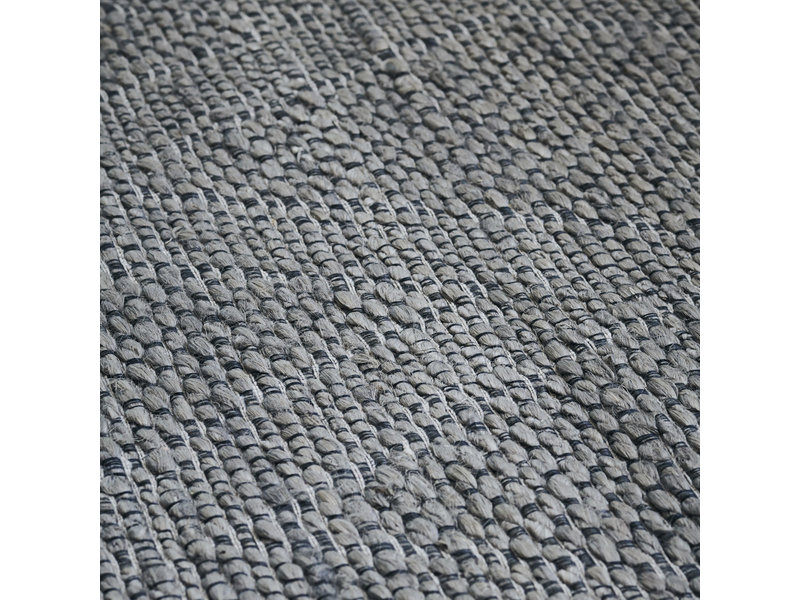 House Doctor Mara vloerkleed - grijs 130x85cm