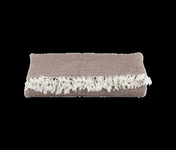 House Doctor Alice tartán marrón 200x140cm