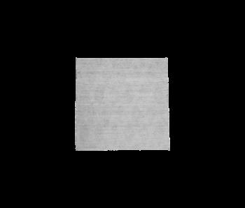 House Doctor Mara vloerkleed - grijs 180x180cm