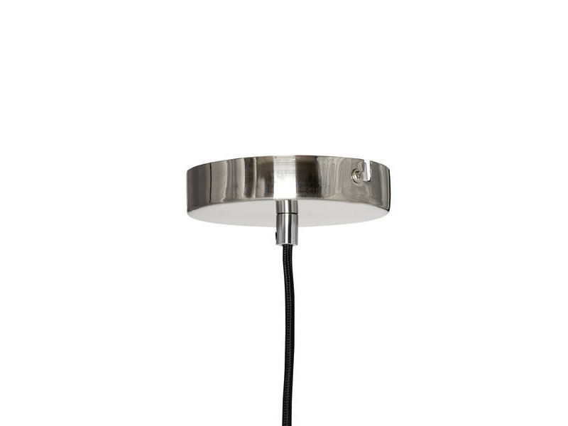Hubsch Hängande lampa glas / metall - nickel
