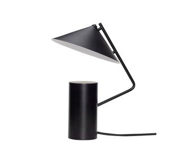 Hubsch Lampe de table en métal - noir