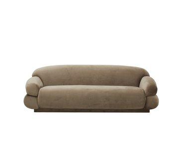 Nordal Sof sofa - lysebrun