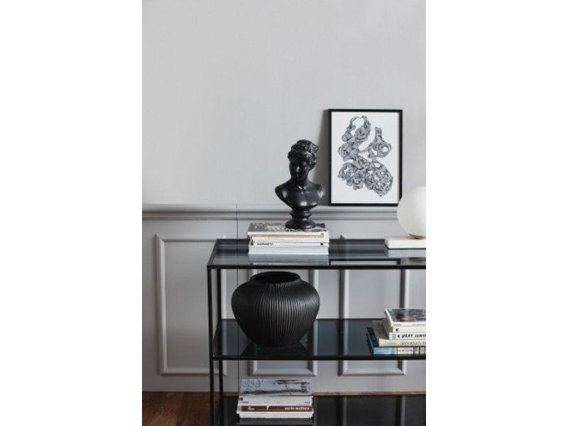 Nordal Rocaille illustration - zwart/wit