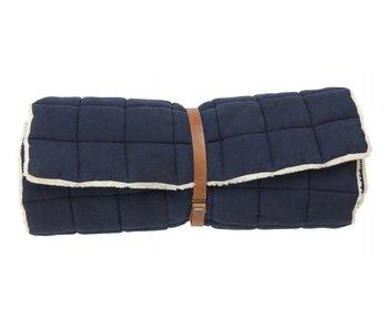 Nordal Colchón de yoga Yin - azul oscuro