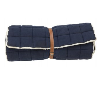 Nordal Yin yogamadrass - mörkblå
