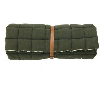 Nordal Colchón de yoga Yin - verde oscuro