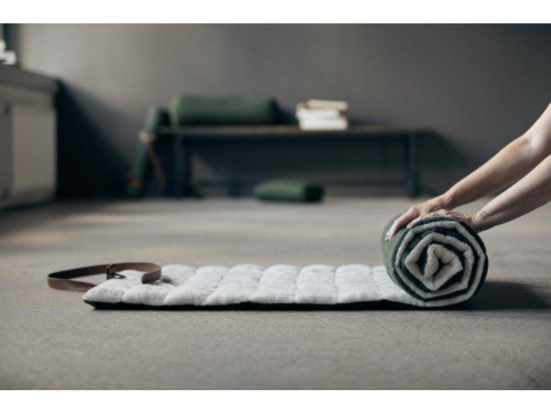 Nordal Yin yoga matras - donkergroen