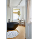 HK-Living Badmat swirl 120cm